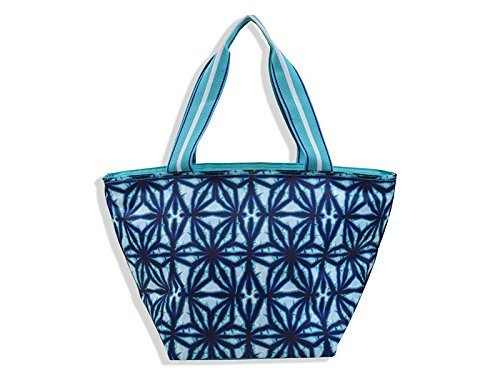 All For Color Indigo Batik Lunch Bag