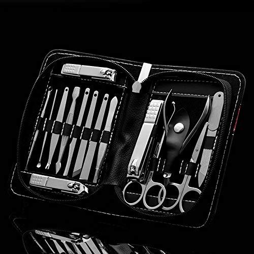 Gereric® 15pcs Nail Clipper Set Nail Groove Foot Nail Tool Coupe - ongles Cut Nail Clipper Set Tool Pedicure Home Travel - B15