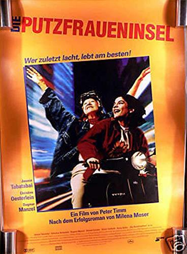 Die Putzfraueninsel - Filmplakat A1 84x60cm gerollt
