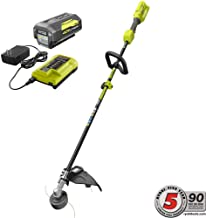 Best ryobi 40v trimmer with battery Reviews