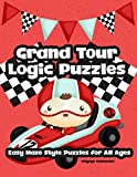 Grand Tour Logic Games Easy Maze Style Puzzles for All Ages: Brain Games Connect The Path Dots