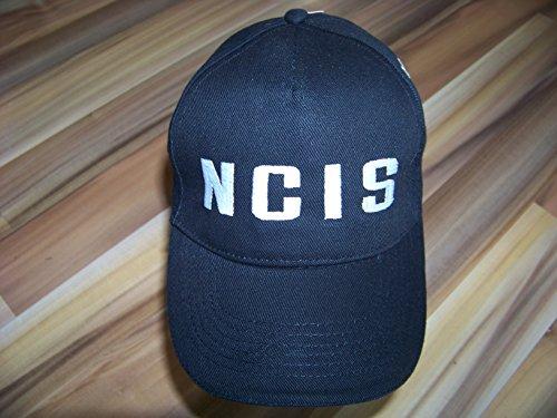 Navy CIS , NCIS Logo Hat Basecap Cap Mütze black / schwarz + eine kleine Überraschung , NEU , Logo (eckig) aufgestickt , Kostüm , Karnevall , Fasching