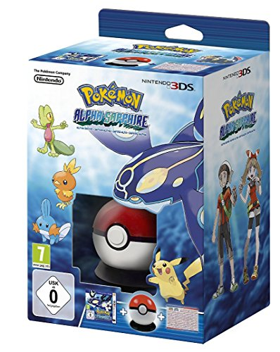 Pokémon: Alpha Saphir ( inkl. Pokéball-Cardcase + Pokédex-Poster )