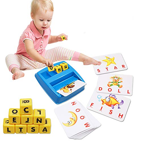 Spelling Games for Kids Ages 4-8 Kids Games Simple, Fun Educational Toy for Preschooler & Kindergarten Kids