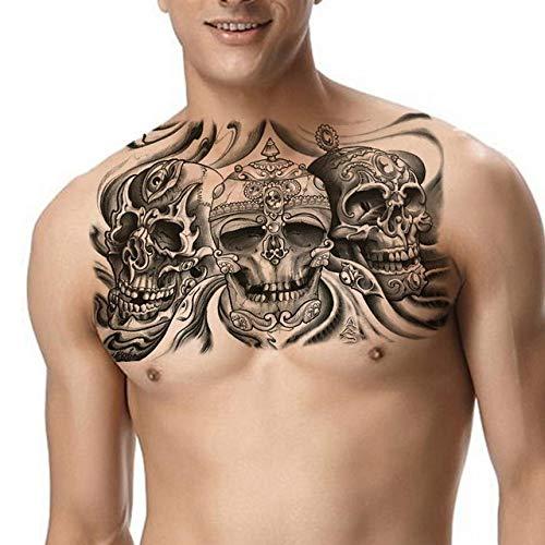 Handaxian 3pcs-Tattoo niño Tatuaje Pegatina dragón Hombro Tatuaje 3pcs-20