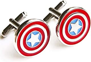 Best captain america cufflinks and tie clip Reviews