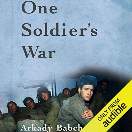 One Soldier's War audiobook cover art