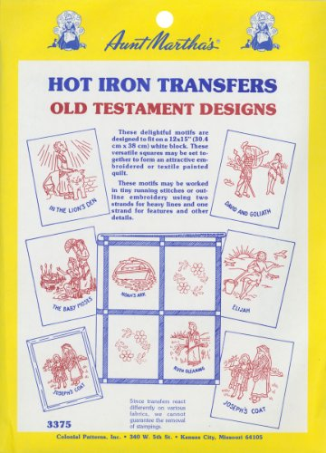Tante Martha de Tante Martha A Transfert thermocollant Collection-Old Testament, d'autres, Multicolore