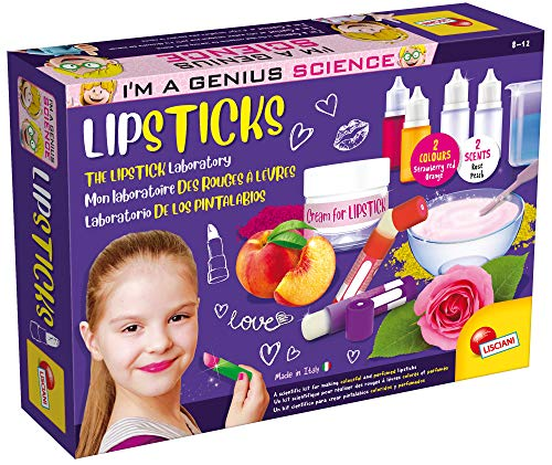 """Lisciani-"""" I'm a Genius The Laboratary des Rouge à Levre"""" (Lipstick), EX66872"""