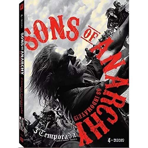 Sons of Anarchy - Os Indomáveis - Terceira Temporada Completa - 4 discos