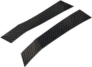 GOGOCARBON Fender Vent Stick-On Overlay Cover Cap (2pcs) fit Subaru WRX/WRX STI/Impreza 2015-2018 Real Dry Carbon