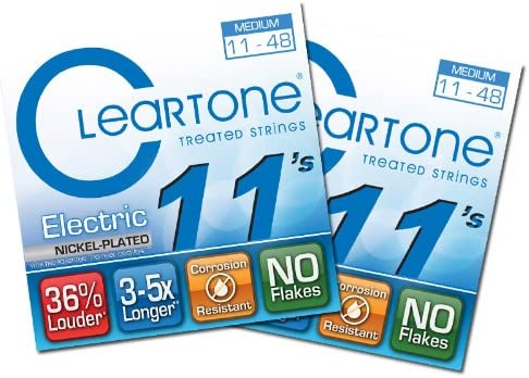 Cleartone Cheap mail order shopping Electric Guitar Strings - 9411 11-48 2 Medium Inventory cleanup selling sale Pa