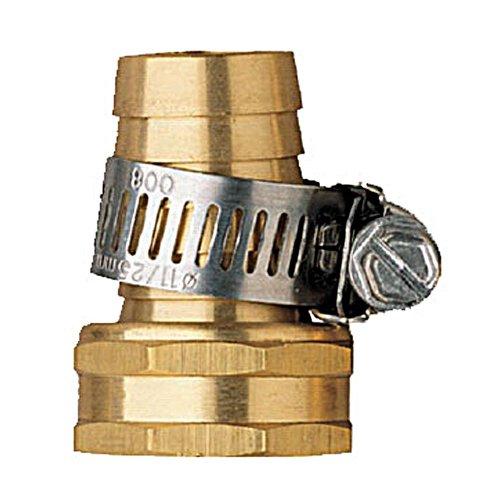 100 Pack - Orbit 5/8 Female Aluminum Water Hose Repair Kit with Hose Clamp