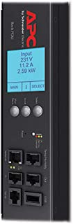 AP8959 Switched Rack PDU 2G, Switched, ZeroU, 20A/208V, 16A/230V, (21) C13 & (3) C19 Surge Protector Power Distribution Unit