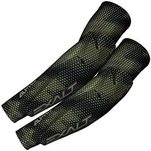 Exalt Paintball Alpha Elbow Pads - Desert - Medium