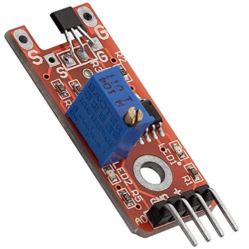 AZDelivery KY-024 Linear Magnetic Hall Sensor kompatibel mit Arduino inklusive eBook!