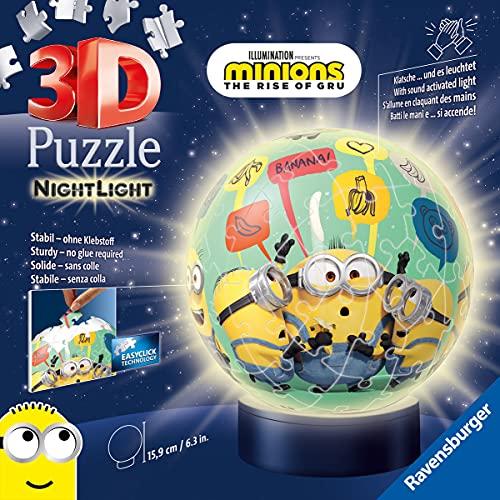 Ravensburger Puzzle 11180 Ravensburger 11180-Nachtlicht Minions 2-72 Teile