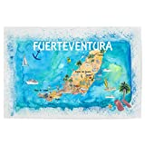 artboxONE Poster 90x60 cm Reise Fuerteventura Illustrierte