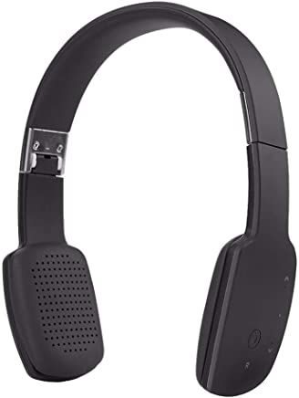 Cuffie con microfono Cuffie stereo Bluetooth 4.1 stereo senza fili Cuffie sportive con microfono HIFI pieghevole (Color : Black) - Trova i prezzi più bassi
