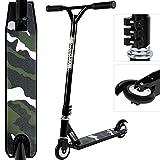 Deuba - Trottinette Freestyle Stunt Aluminium - Triple Fixation Roulements ABEC 7...