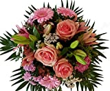 Flora Trans Blumenstrauss zum Geburtstag verschicken mit Rosen -Rosanna-