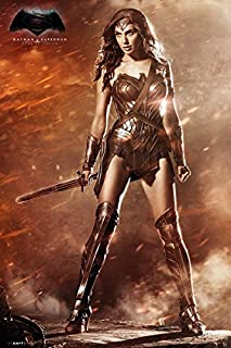 Batman vs. Superman: Dawn of Justice - Movie Poster/Print (Wonder Woman - Gal Gadot) (Size: 24 inches x 36 inches)