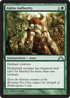 Magic The Gathering - Alpha Authority (114) - Gatecrash - Foil by