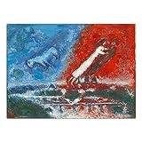XuFan Wandkunst Bilder Poster Russische Marc Chagall