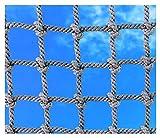 Seilnetz,Kletternetz Sicherheitsnetz füR Kinder Netz Strickleiter Balkon-Netz Ladung-Netz...