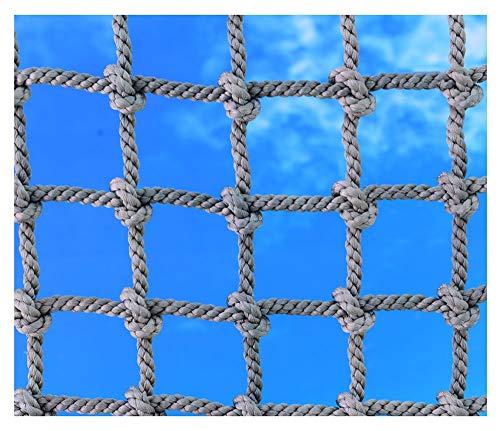 Seilnetz,Kletternetz Sicherheitsnetz füR Kinder Netz Strickleiter Balkon-Netz Ladung-Netz Containernetz Gepäcknetz Sicherungsnetz Schutznetz Spielturm Kletterturm Kletterseil Zaunnetz Nylon Netz,6