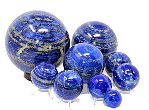 Marcopolo Gems Lapis Lazuli Kugel - 30-35mm AAA Klasse