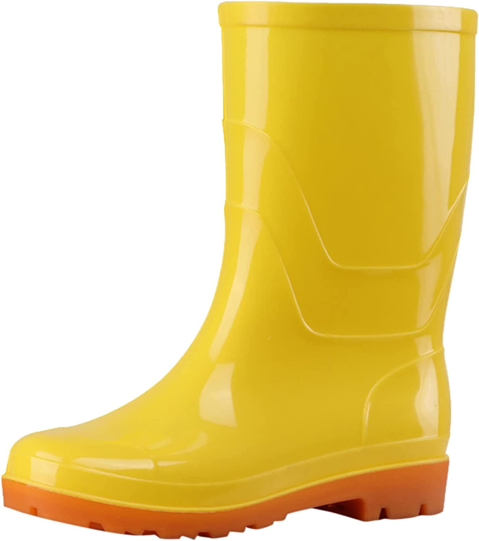 Euone_Clothes Women's Sneakers Men's Rain Boots Summer Wear-Resistant Shoes Outdoor Garden Water Shoes
