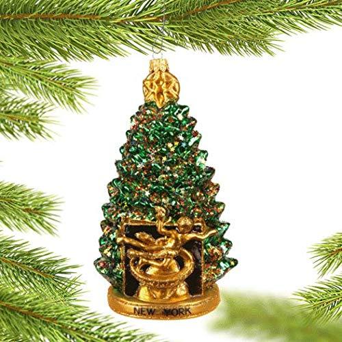 NYC Rockefeller Center Christmas Tree Christmas Ornament