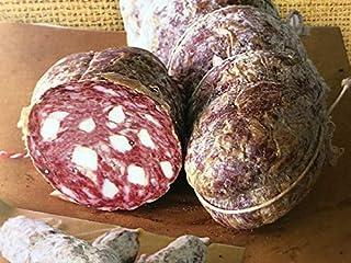 Salame Toscano Nero di Maremma 250/300 gr - SALUMIFICIO FATTORIA CASTEANI - salumi Toscani