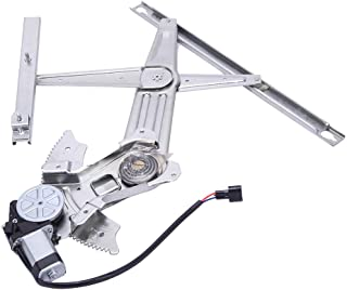 TYC 660183 Dodge Ram Pickup Front Passenger Side Replacement Power Window Regulator Assembly with Motor