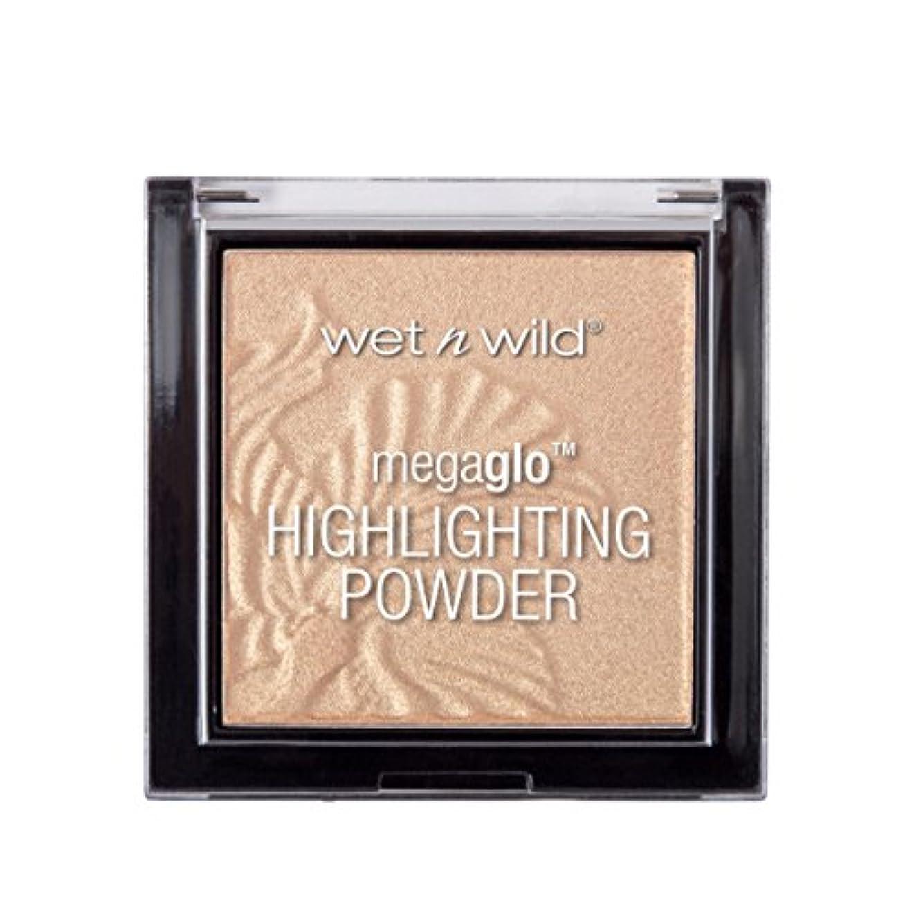 願望路地傷つける(3 Pack) WET N WILD MegaGlo Highlighting Powder - Golden Flower Crown (並行輸入品)
