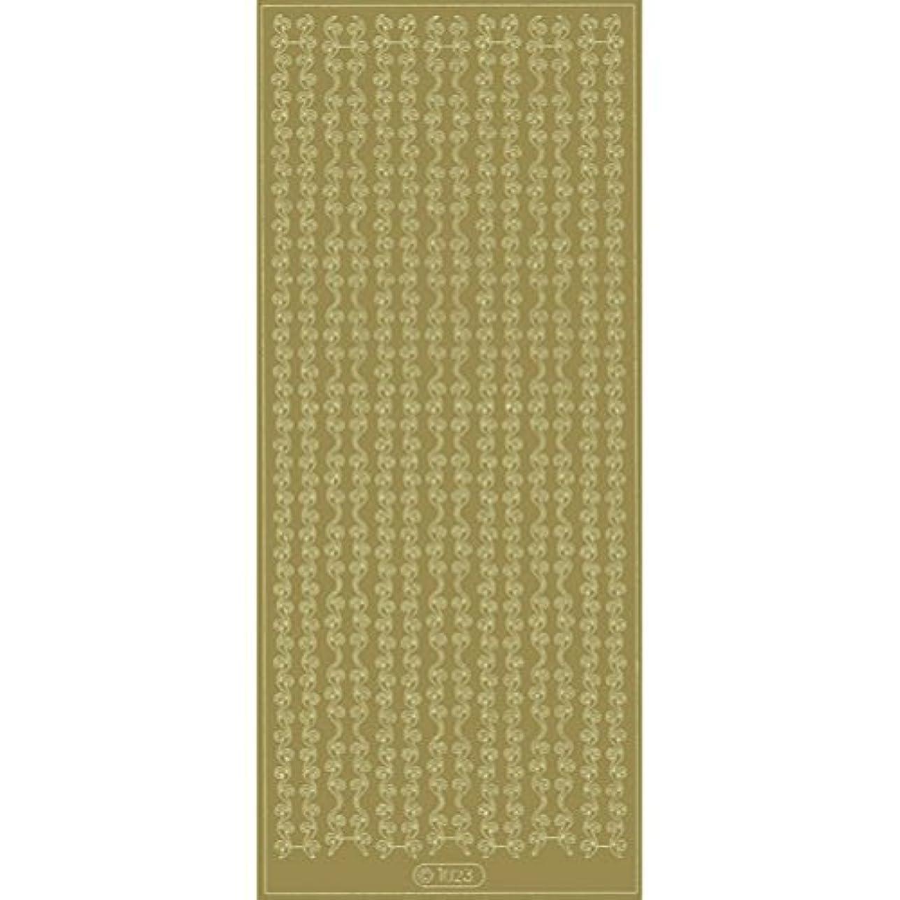 エレガントカットシールL1023ゴールド