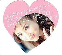 松田聖子25周年記念コンサート ツアーパンフレットfairy