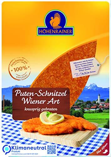 Höhenrainer Puten-Schnitzel Wiener Art wie gewachsen, 2 Stück