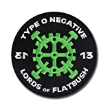 Lords of Flatbush Embroidered Patch - Type O Negative - 4 3/4' embroidered patch with Merrowed Edge and Wax Backing - Hard Rock and Roll
