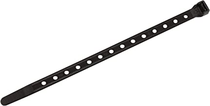 Southwire CT1190100 11-Inch Heavy Duty Cable Ties, Strong 90 lb Test, Universal Easy Zip, Black (Pack of100)