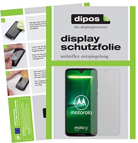 dipos I 6X Schutzfolie matt kompatibel mit Motorola Moto G7 Plus Folie Bildschirmschutzfolie