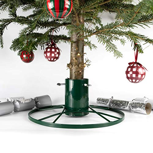 Bosmere 4-inch Contemporary Christmas Tree Stand with Green