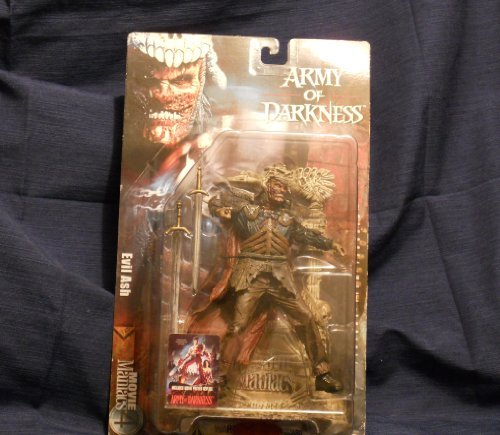 Mcfarlane Movie Maniacs 4- 6' Army Of Darkness Evil Ash action figure