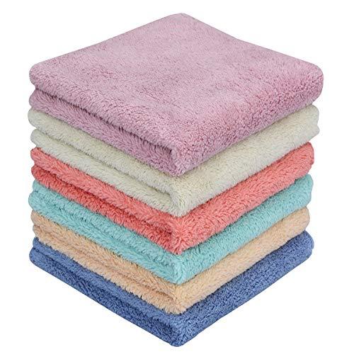 MAYOUTH Microfiber rag Bulk Multi-Functional for House Furniture Reusable Rags
