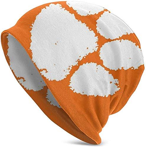 NA Wintermütze, warm, gestrickt, Totenkopf, Outdoor-Sportkappe für Männer und Frauen, Clemson Tiger Paw Fußball, South Carolina Territory