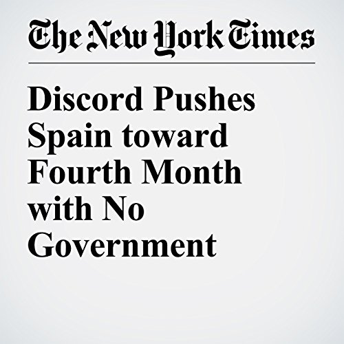 Discord Pushes Spain toward Fourth Month with No Government cover art