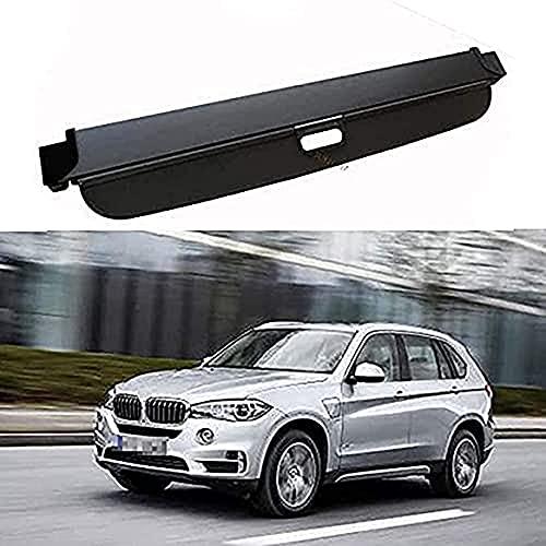 JINMEI Para BMW X5 E70 F15 X5M F85 2007-2018 Cubierta Extensible del Maletero Persiana Enrollable Cubierta del Maletero Bandejas Cubierta De Protección del Maletero Accesorios De Estilo De Coche