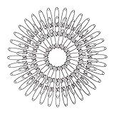 SNAGAROG 1000Pcs Mini Épingles de Sûreté Robuste - 27mm Épingles à Nourrice Finition Nickel pour Travaux de Couture Vêtement Art Craft (Argent)