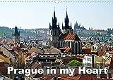 Prague in my heart (Wall Calendar 2022 DIN A3 Landscape): Walking around beautiful Prague (Monthly calendar, 14 pages )